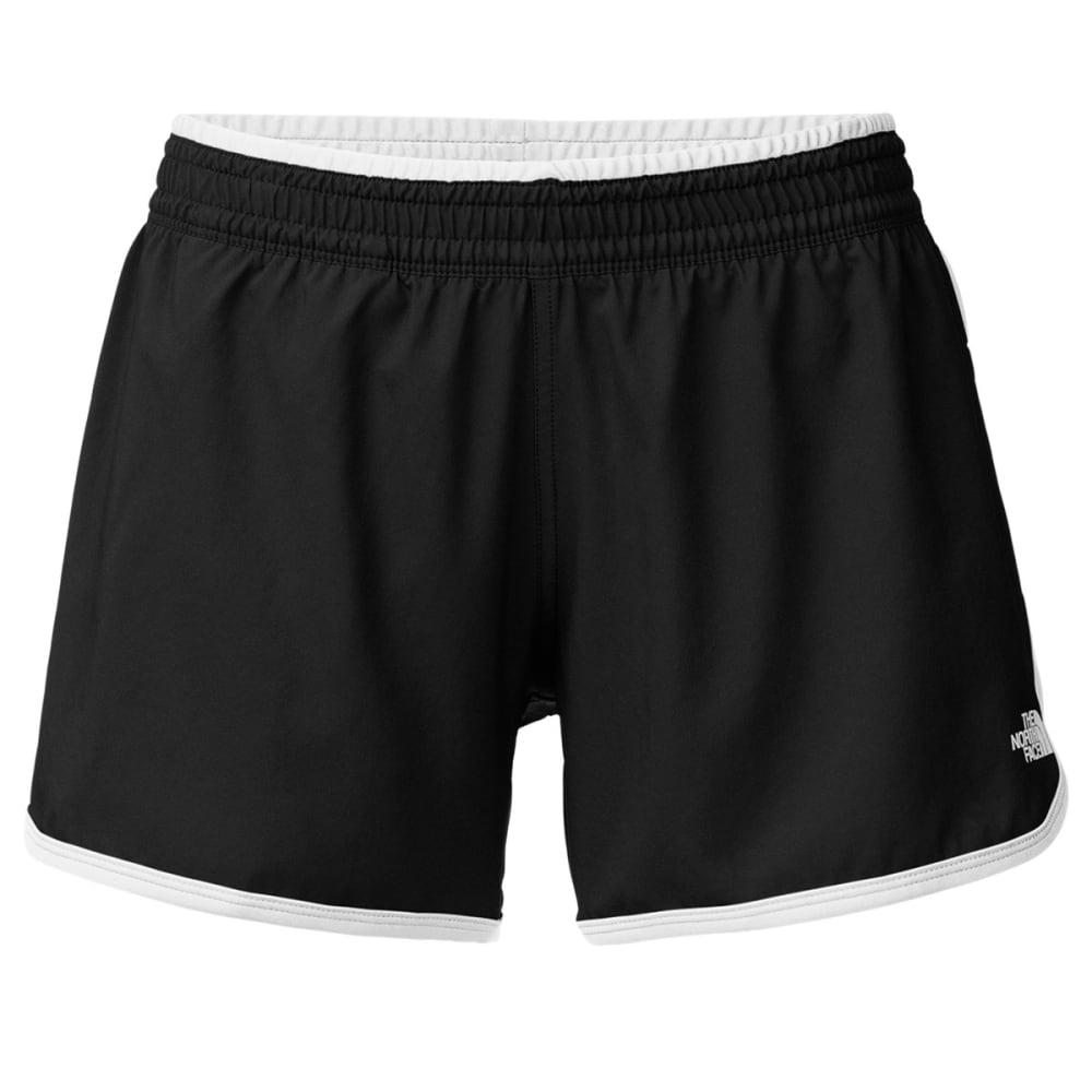 THE NORTH FACE Women's Reflex Core Shorts - KY4-TNF BLACK/WHITE