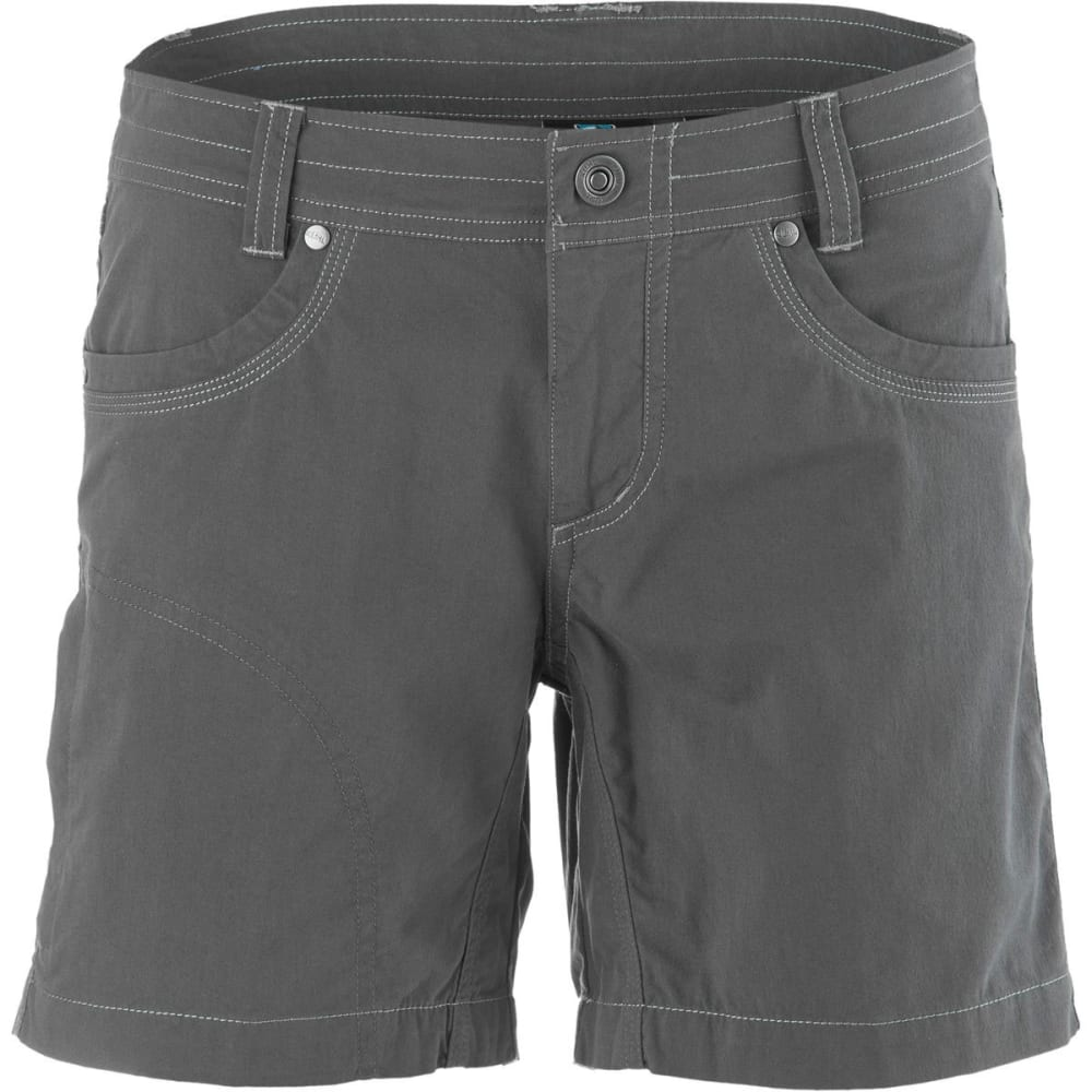 KÜHL Women's Splash Shorts, 5.5 IN - CARBON