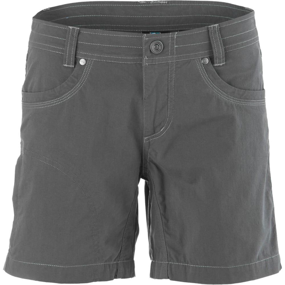 KÜHL Women's Splash Shorts, 5.5 IN - CARBON