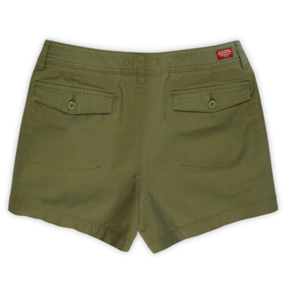 "EMS Women's Adirondack Shorts, 4"" - LODEN GREEN"