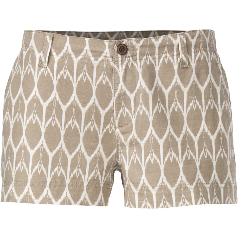 THE NORTH FACE Women's Maywood Shorts, 3 in. - DUNE BEIGE/VINTAGE W