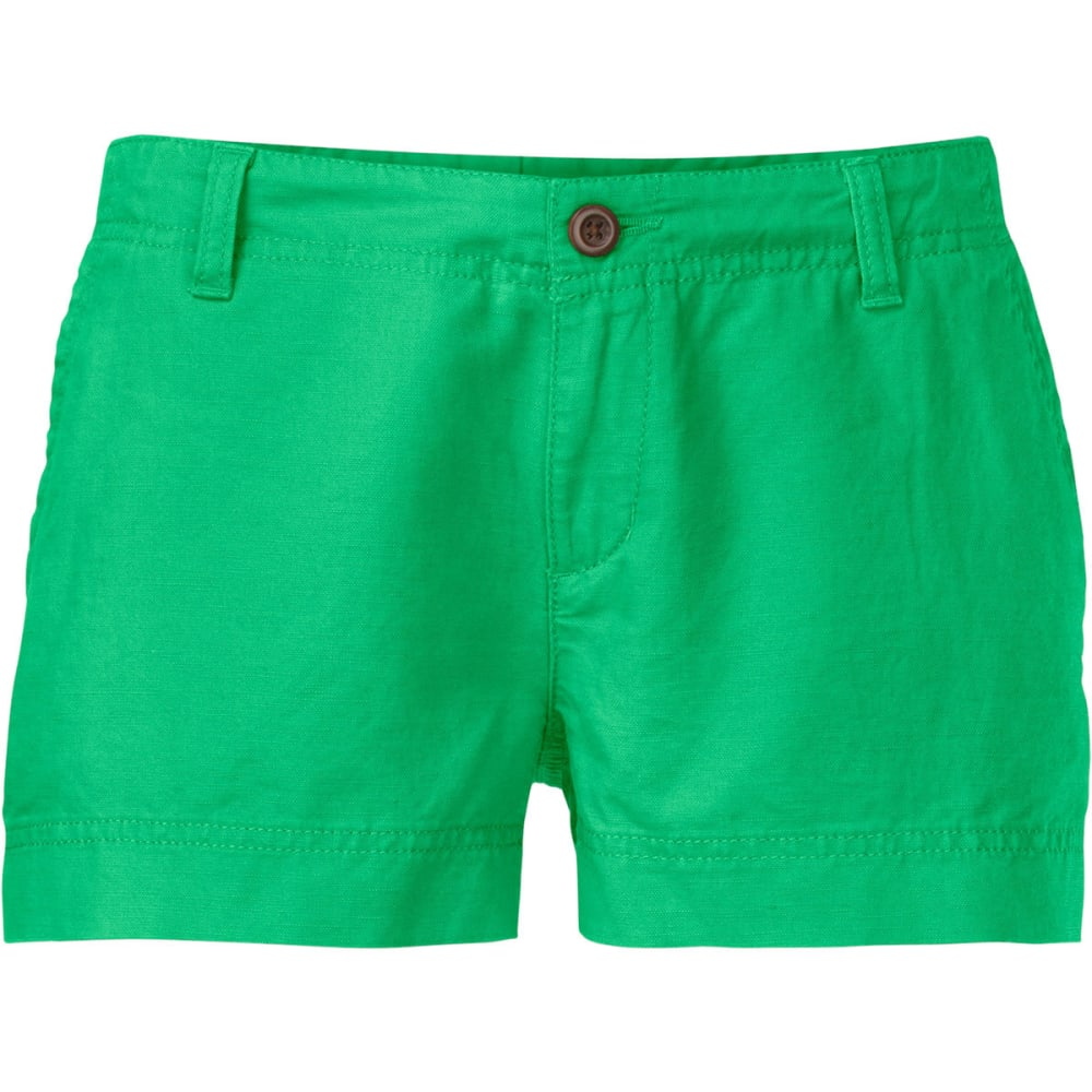 THE NORTH FACE Women's Maywood Shorts, 3 in. - SURREAL GREEN