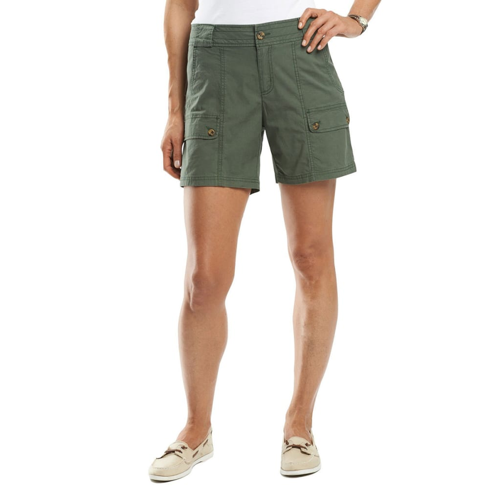 WOOLRICH Women's Laurel Run II Shorts - OLIVE GREEN