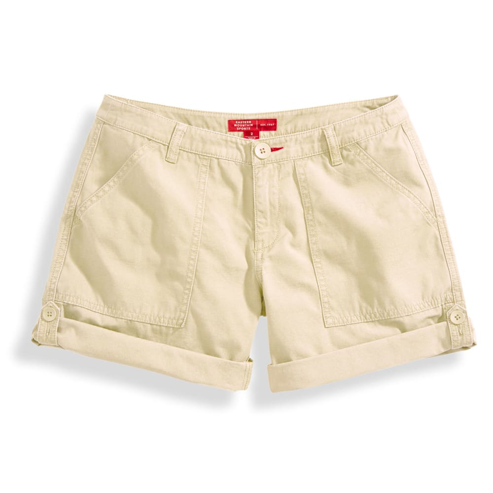 EMS® Women's Roll Shorts - WHITE PEPPER
