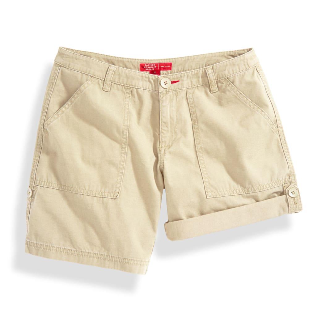 EMS Women's Roll Shorts - WHITE PEPPER