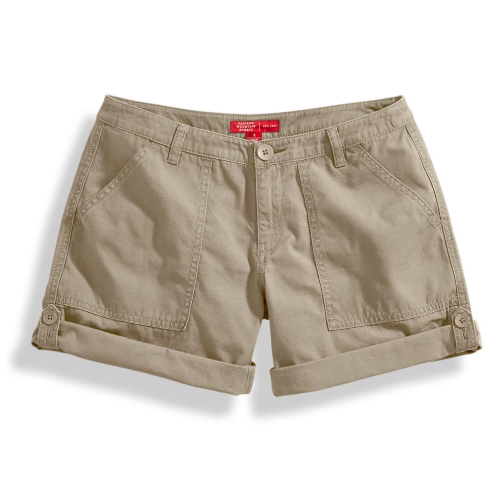 EMS Women's Roll Shorts - CHINCHILLA