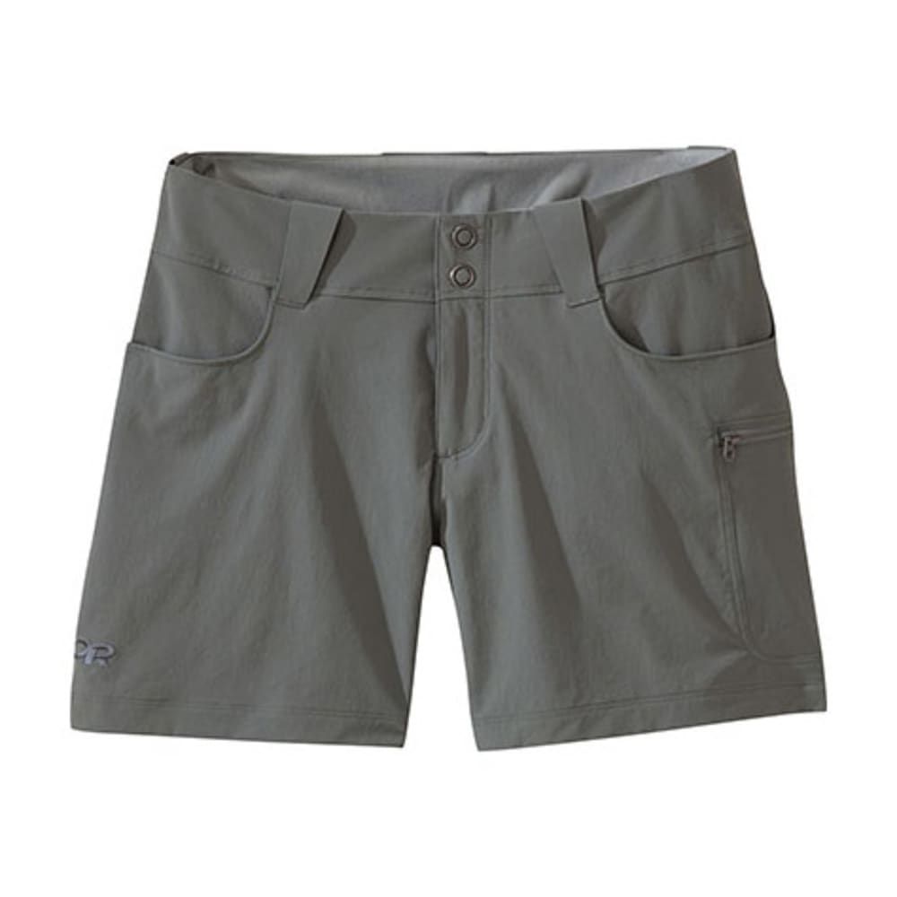 OUTDOOR RESEARCH Women's Ferrosi Summit Shorts - PEWTER-008