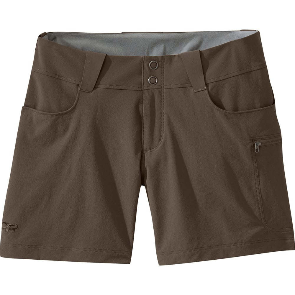 OUTDOOR RESEARCH Women's Ferrosi Summit Shorts - MUSHROOM