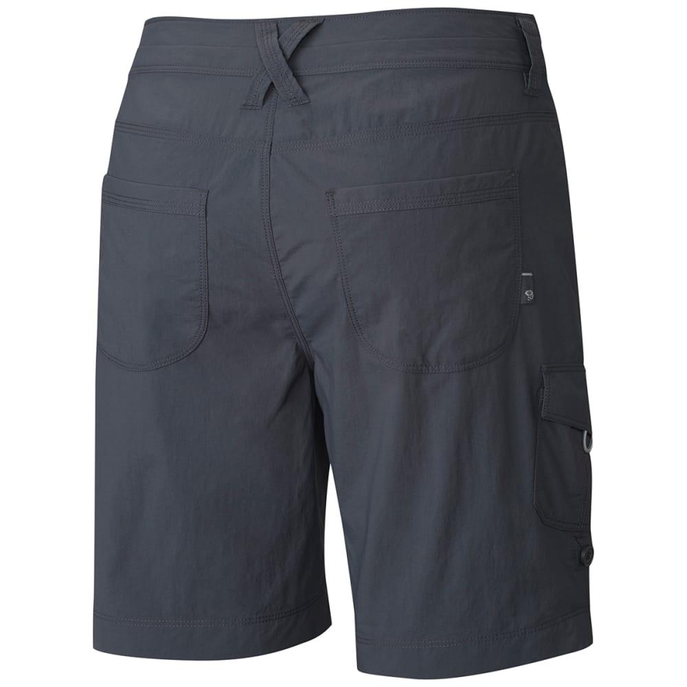 MOUNTAIN HARDWEAR Women's Mirada Cargo Shorts - GRAPHITE- 9in