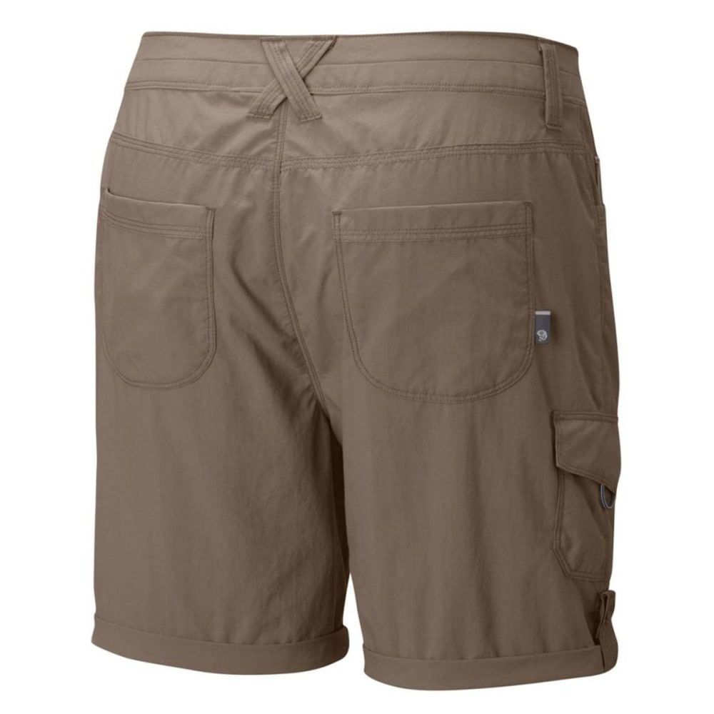 MOUNTAIN HARDWEAR Women's Mirada Cargo Shorts - KHAKI-7in
