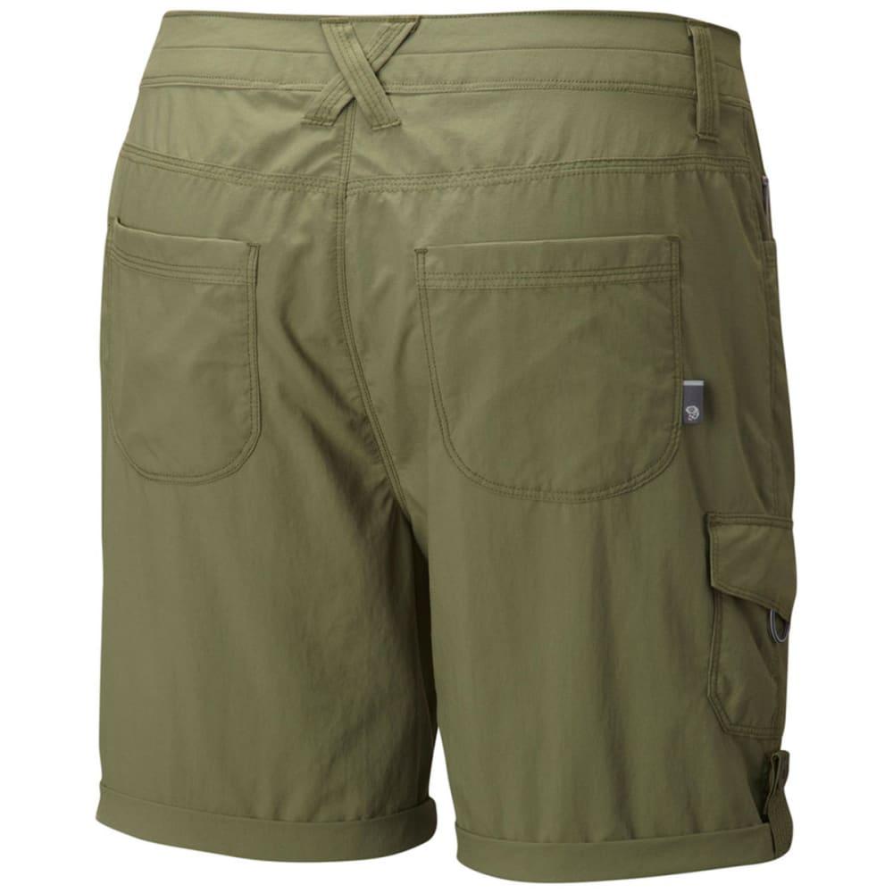 MOUNTAIN HARDWEAR Women's Mirada Cargo Shorts - MOSSTONE