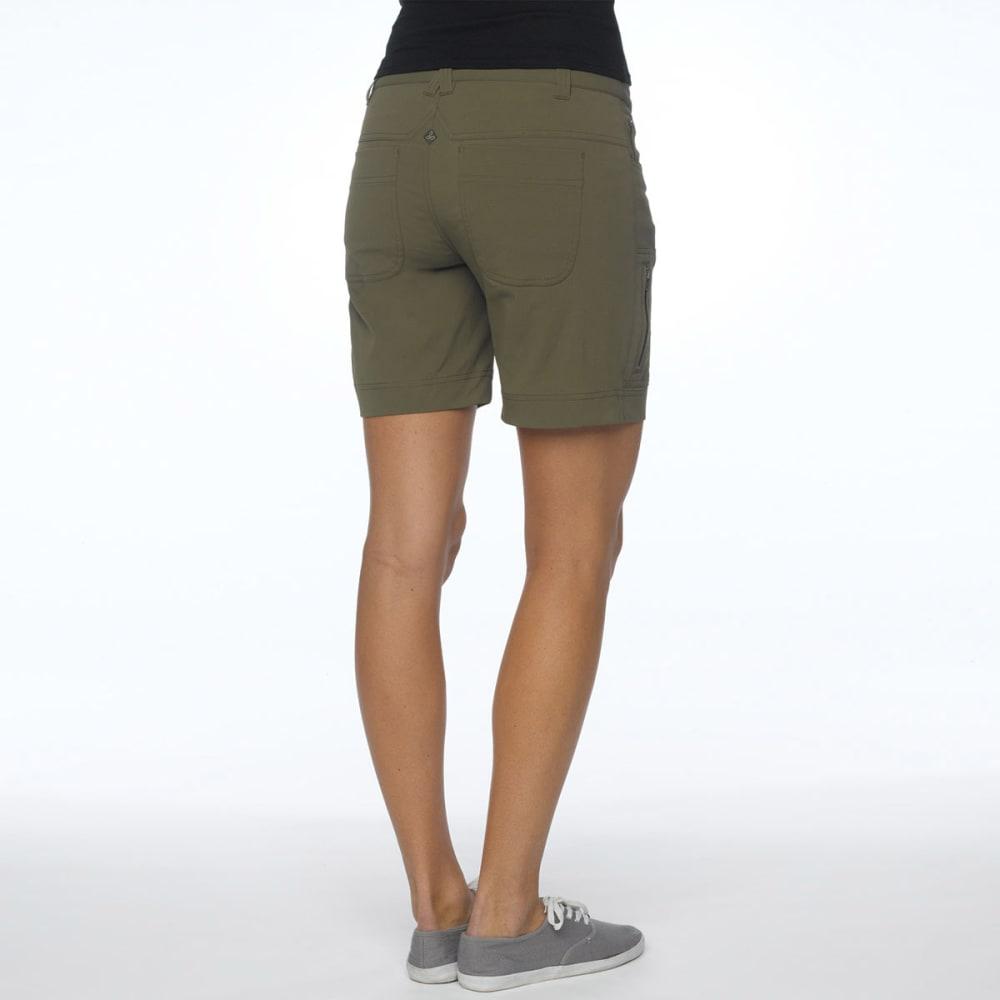 PRANA Women's Hazel Shorts - CAGR-ARGO GREEN