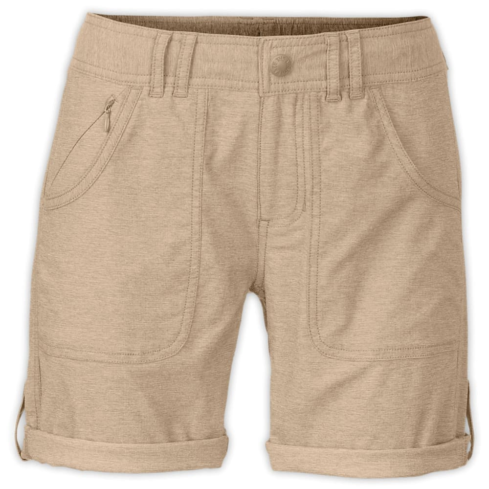 THE NORTH FACE Women's Horizon 2.0 Roll-Up Short, 10 in. - DUNE BEIGE