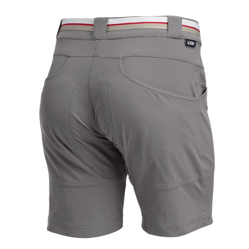 EMS Women's Compass Trek Shorts, 9 in. - PEWTER