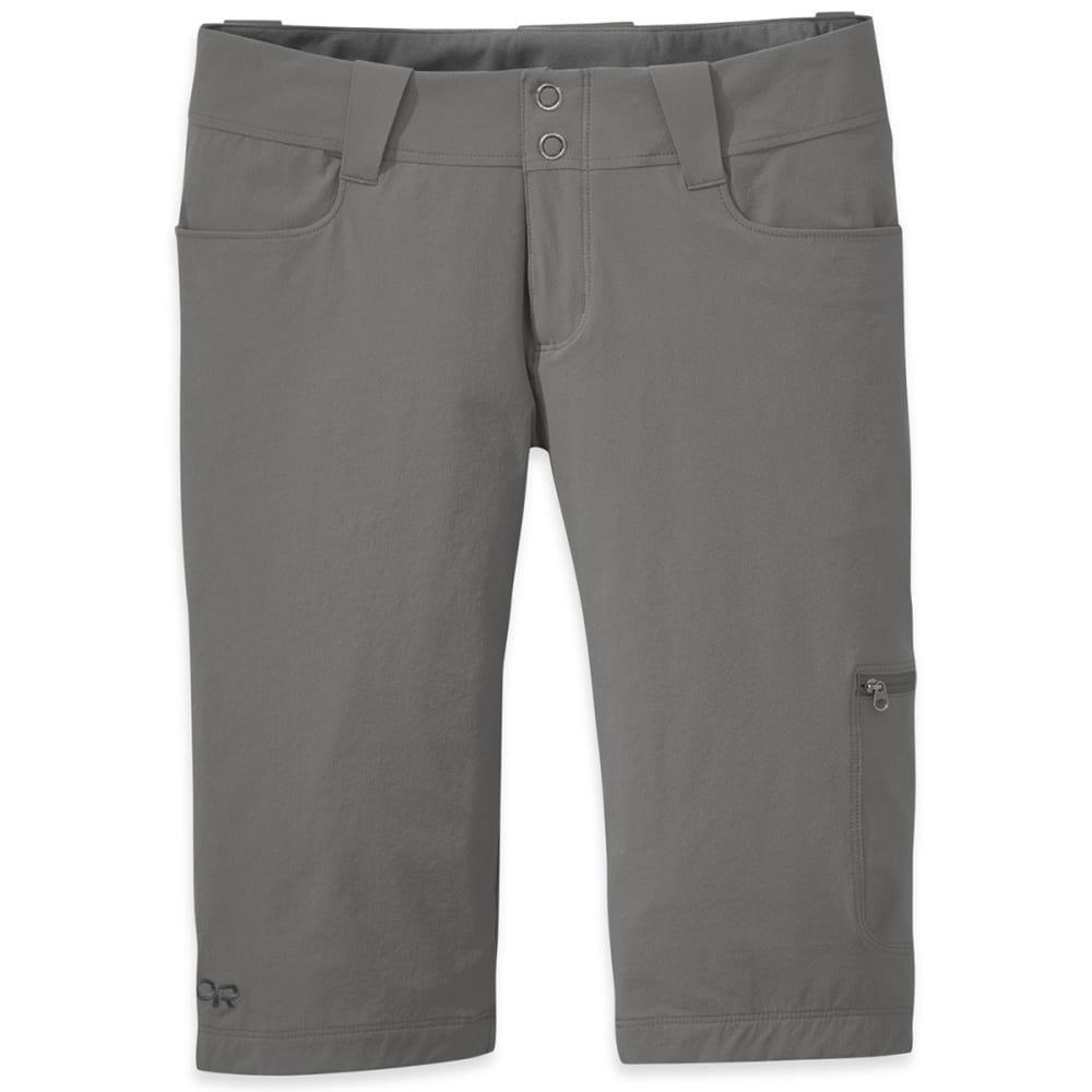 OUTDOOR RESEARCH Women's Ferrosi Shorts - PEWTER