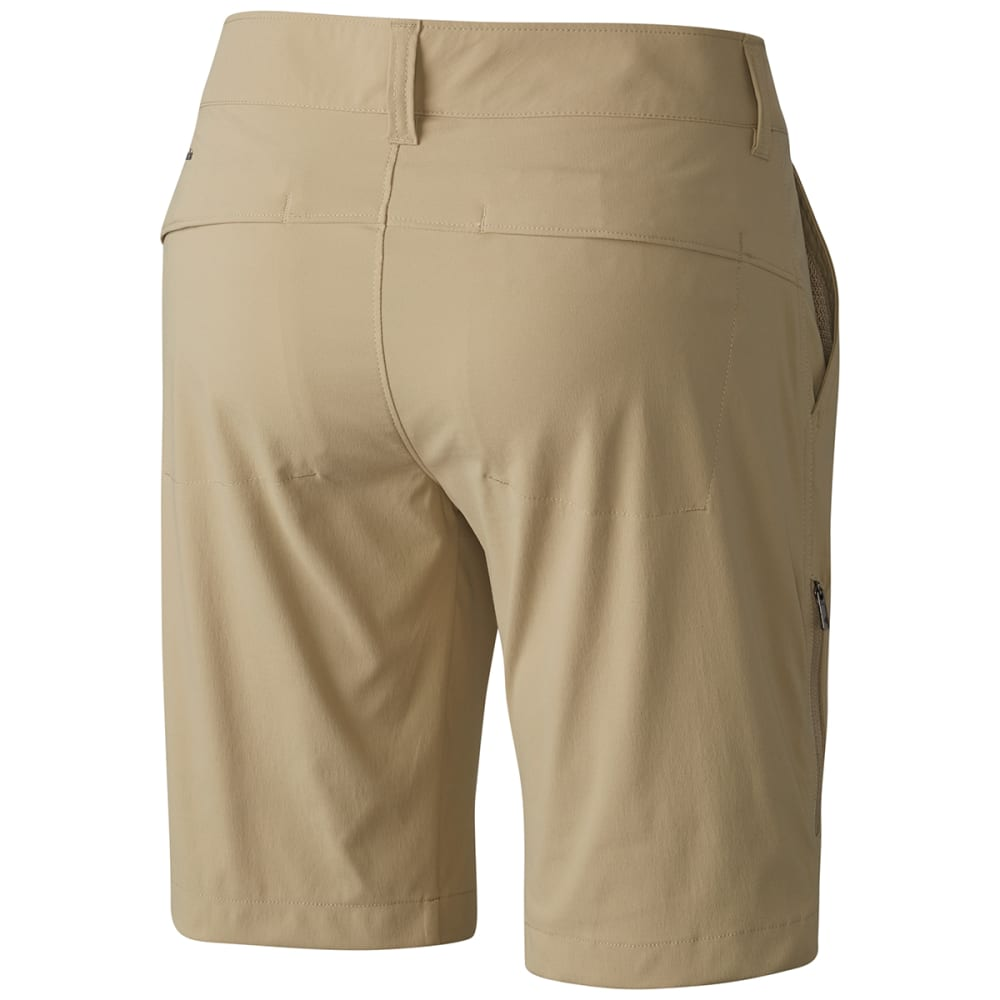 COLUMBIA Women's Saturday Trail Long Shorts - 265-BRITISH TAN