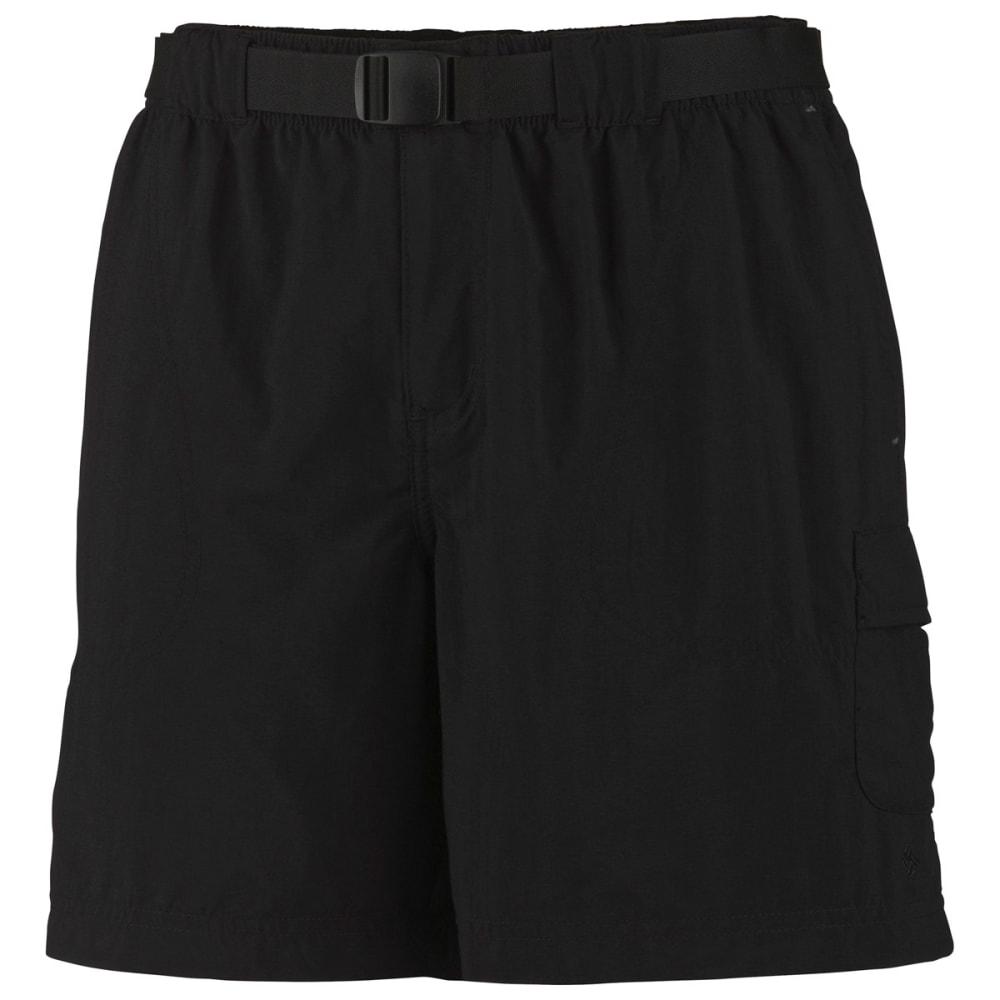 COLUMBIA Women's Sandy River Cargo Shorts - BLACK