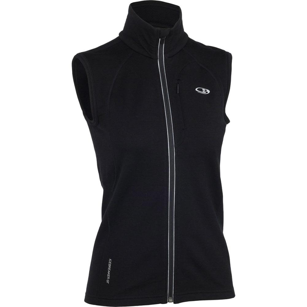 ICEBREAKER Women's Quantum Vest - BLACK