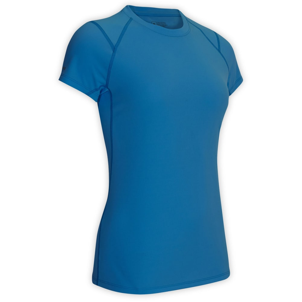 EMS® Women's Techwick® Essence Short-Sleeve Top  - PEACOCK BLUE