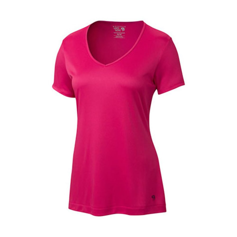 MOUNTAIN HARDWEAR Women's Wicked T-Shirt, S/S - BRIGHT ROSE