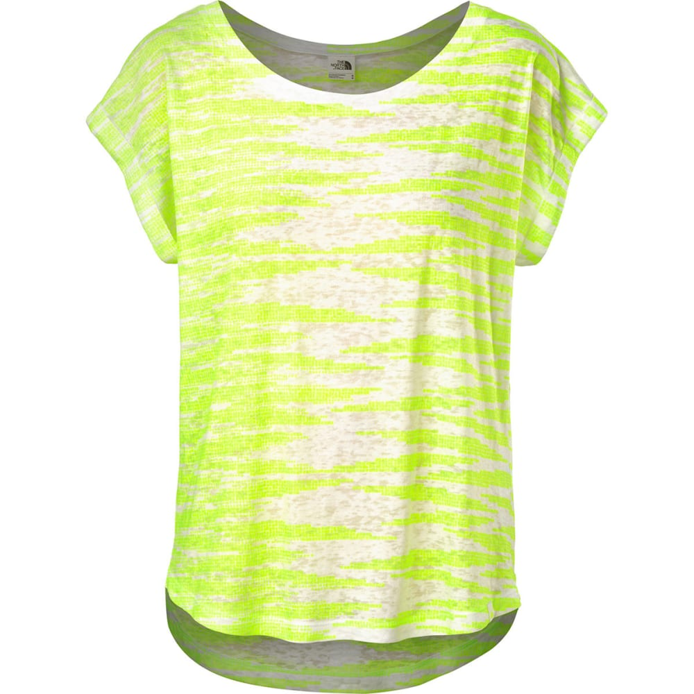 THE NORTH FACE Women's Kokomo Burnout Top - TNF WHITE