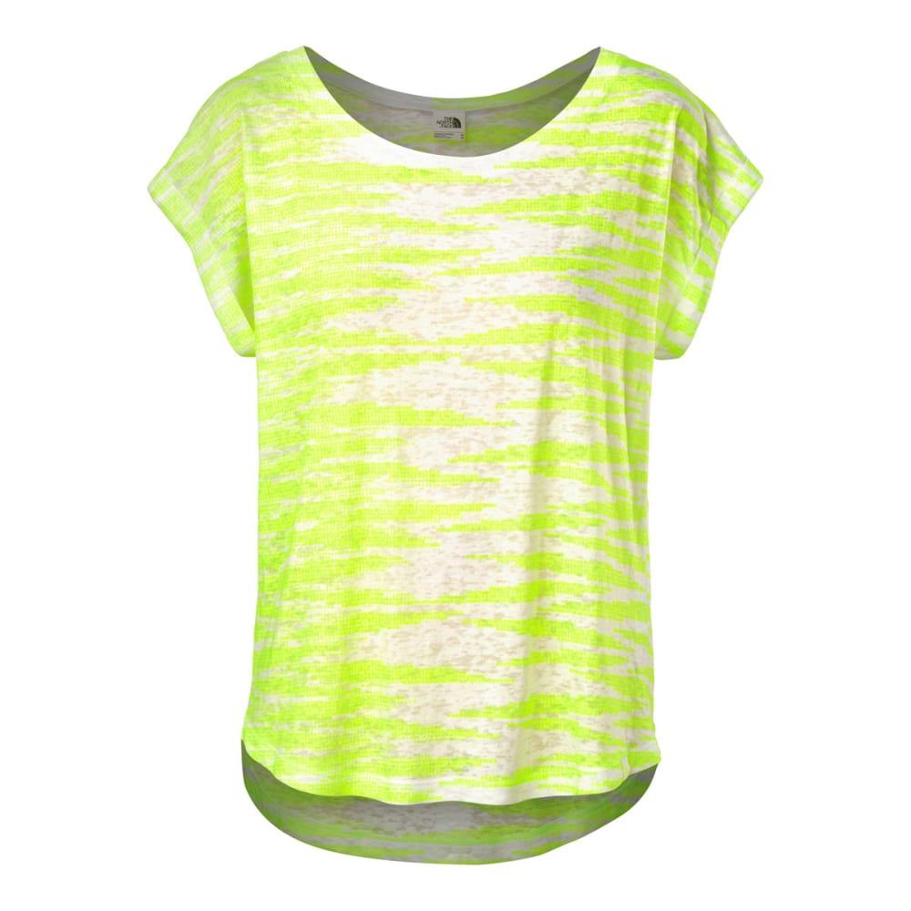 THE NORTH FACE Women's Kokomo Burnout Top - PARADISE GREEN