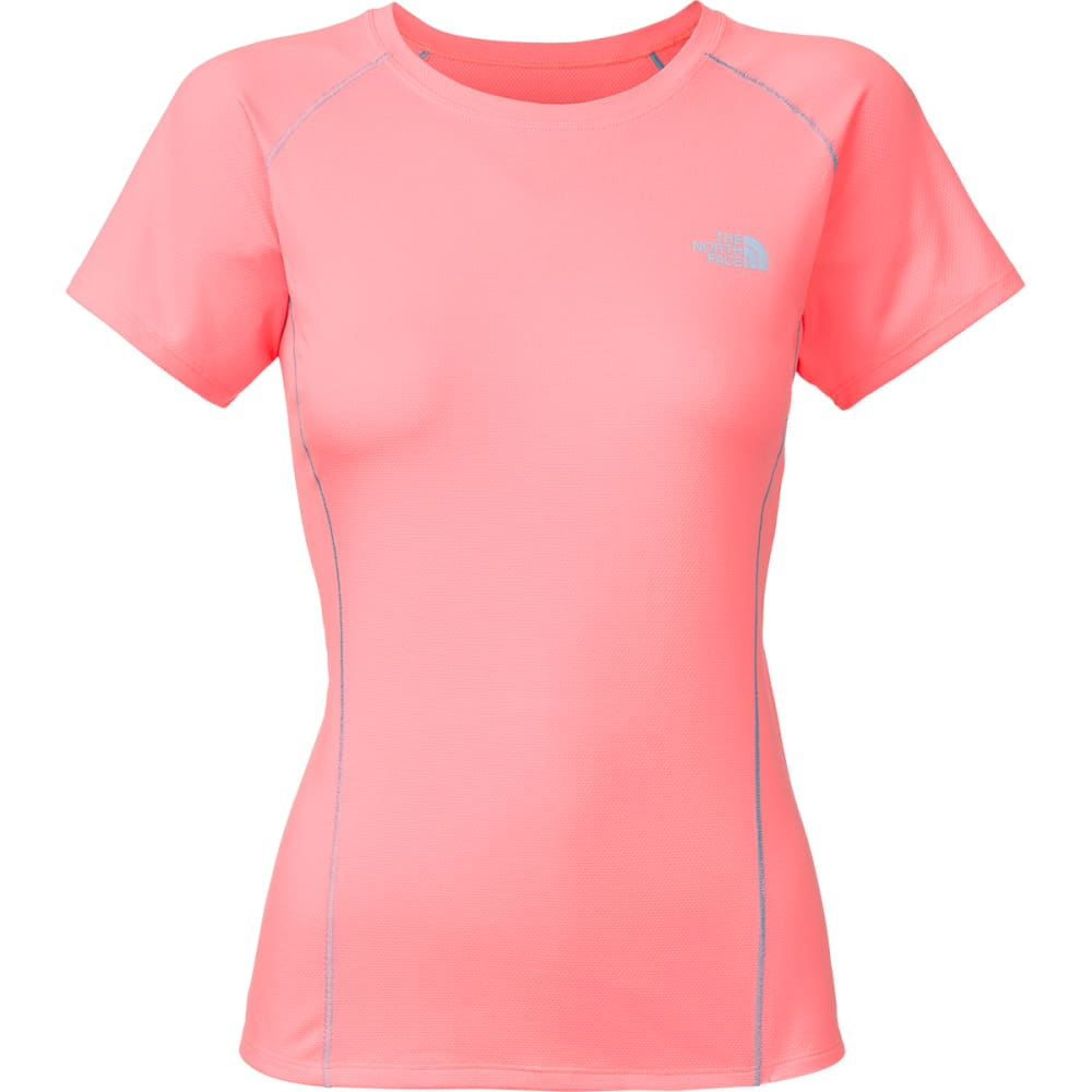 THE NORTH FACE Women's Short-Sleeve Voltage Tee Shirt - PEACH