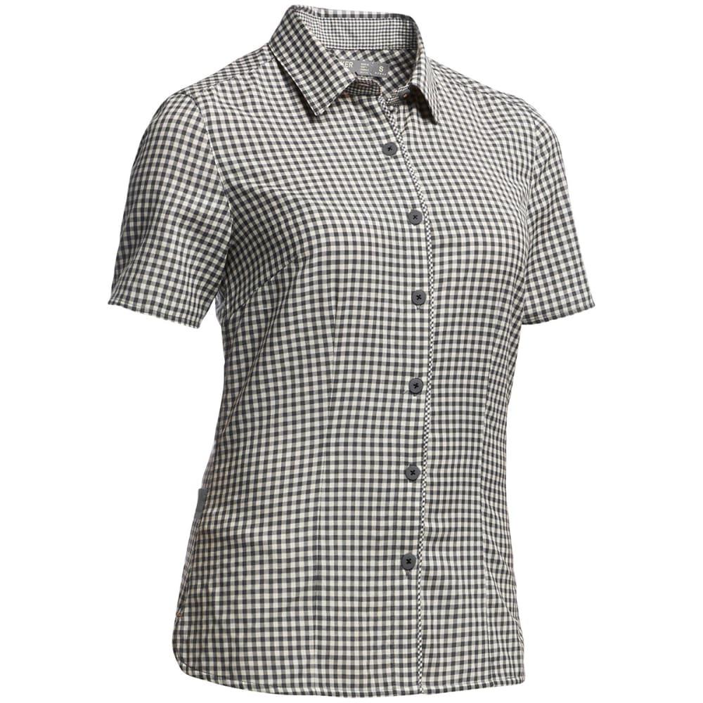 ICEBREAKER Women's Destiny Short Sleeve Shirt - MONSOON