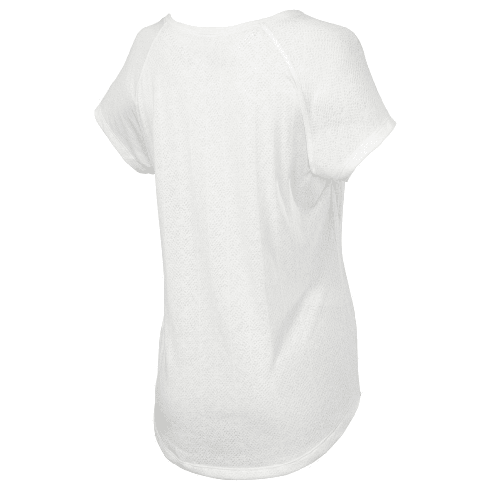 THE NORTH FACE Women's Burn Out Short-Sleeve Shirt - WHITE