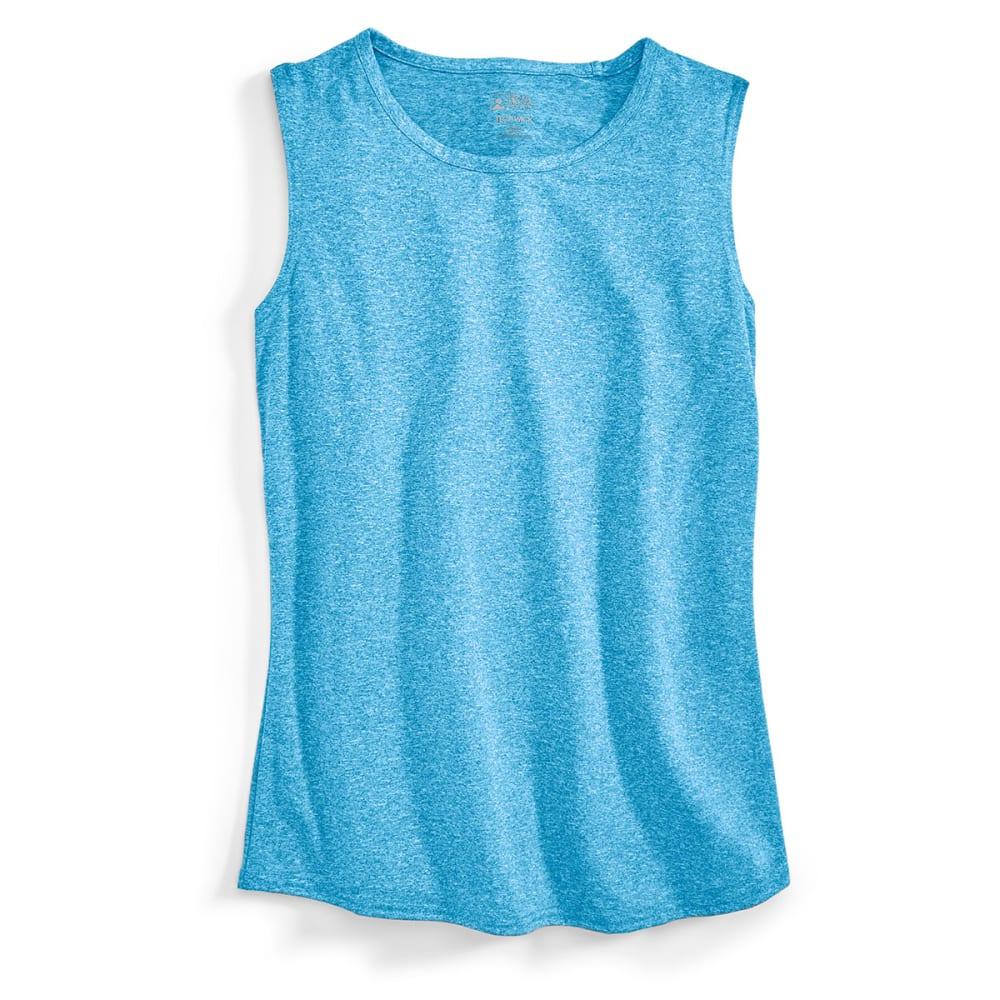 EMS® Women's Techwick® Essence Muscle Tank  - METHYL BLUE HEATHER