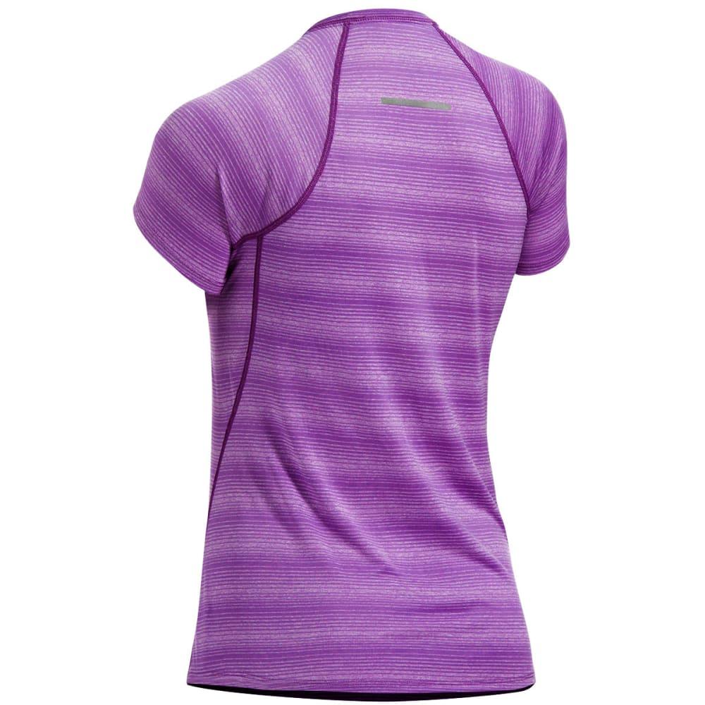 EMS Women's Techwick Essence Short-Sleeve Shirt - SUNSET PURPLE