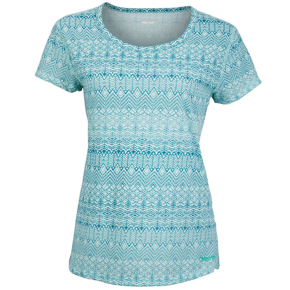 MARMOT Women's Katie Short-Sleeve Shirt - BLUE