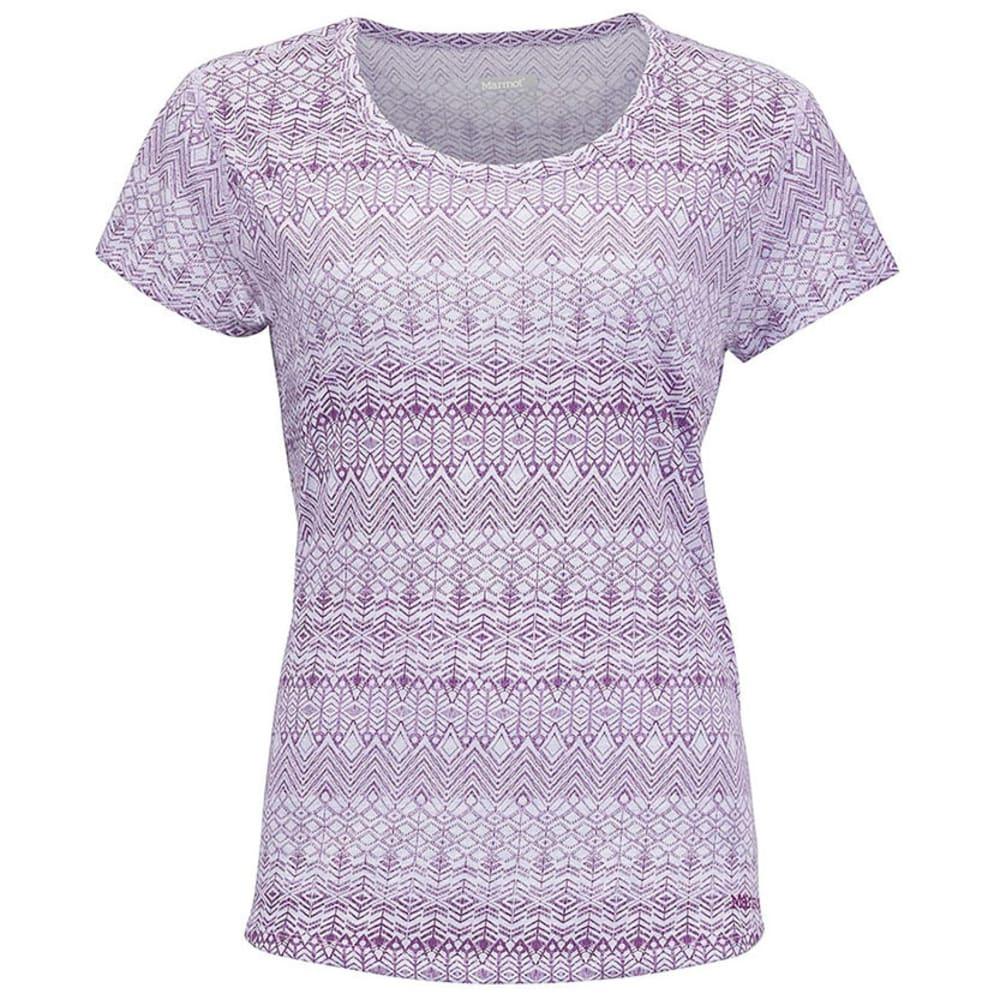 MARMOT Women's Katie Short-Sleeve Shirt - LAVAN HAZE