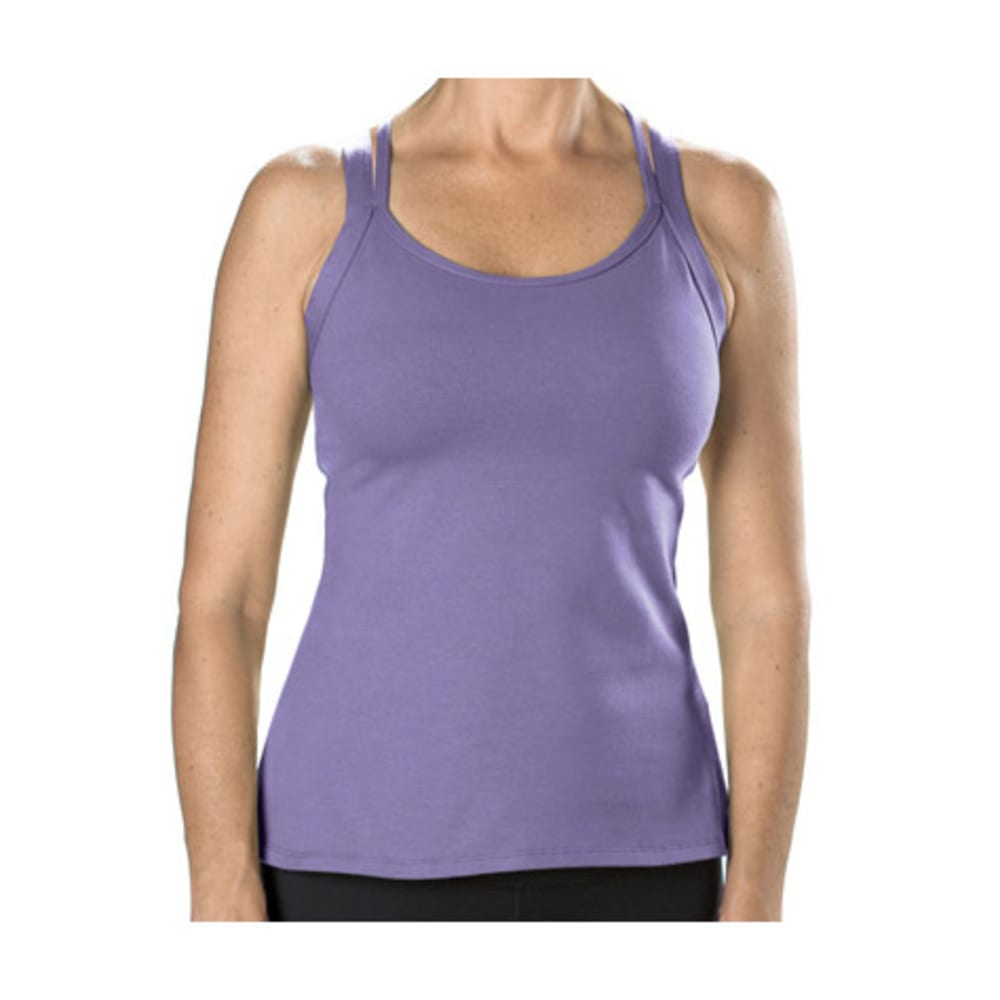 STONEWEAR DESIGNS Women's Dryflex Double Cross Top - LAVENDER