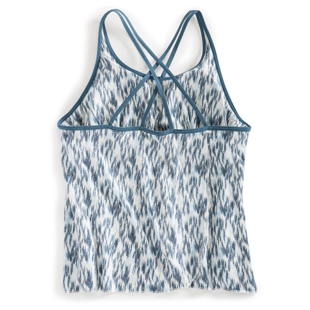 EMS® Women's Journey Breeze Tank   - CORDYALIS BLUE SKETC