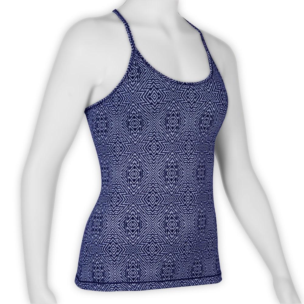 EMS® Women's Techwick® Fusion Printed Strap Tank - DAZZLING BLUE