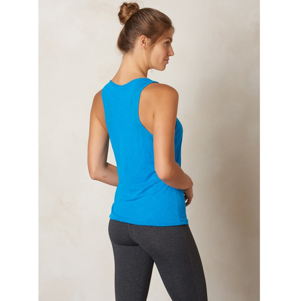 PRANA Women's Mika Top - ELECTRIC BLUE