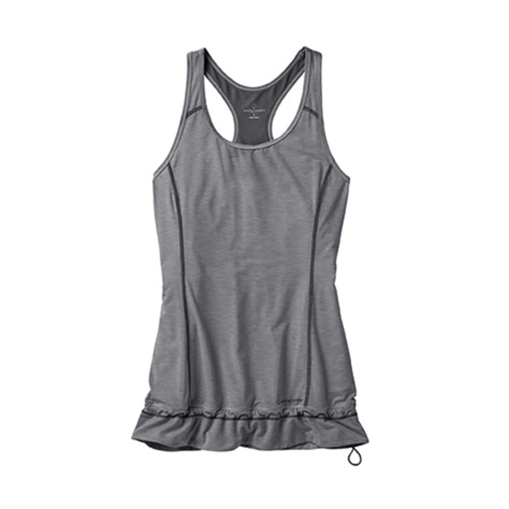 MOVING COMFORT Women's Endurance Tank - BLACK HEATHER
