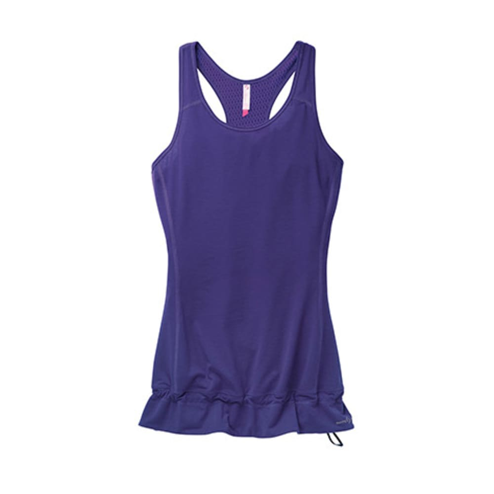 MOVING COMFORT Women's Endurance Tank - GEM HEATHER