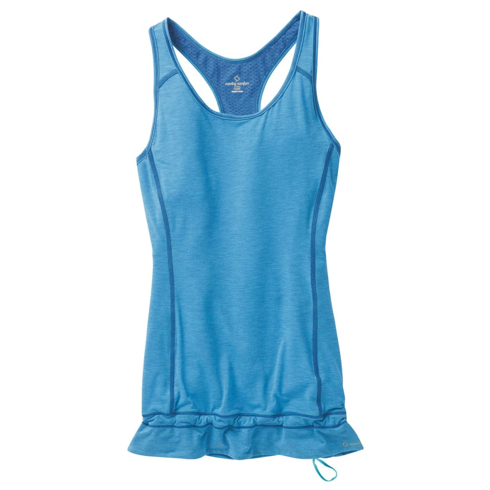 MOVING COMFORT Women's Endurance Tank - COSMIC BLUE