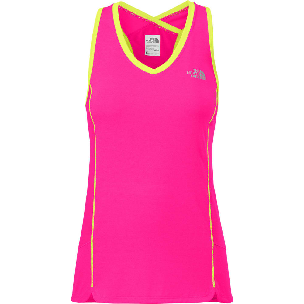 THE NORTH FACE Women's GTD Tank - GLO PINK HTR