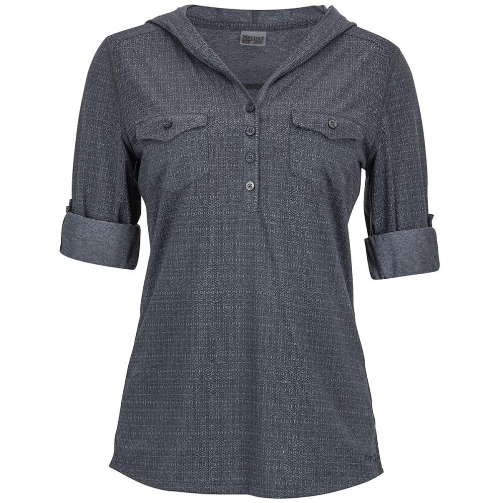 MARMOT Women's Laura Long-Sleeve Shirt - DARK STEEL
