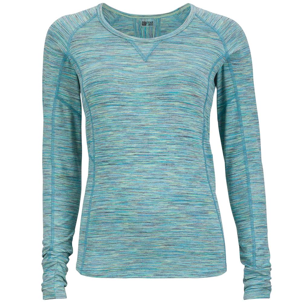 MARMOT Women's Helen Long-Sleeve Shirt - GEM GREEN
