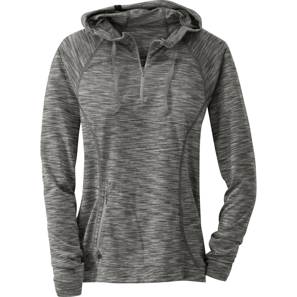OUTDOOR RESEARCH Women's Flyway Zip Hoodie - 0042-PEWTER/ALLOY