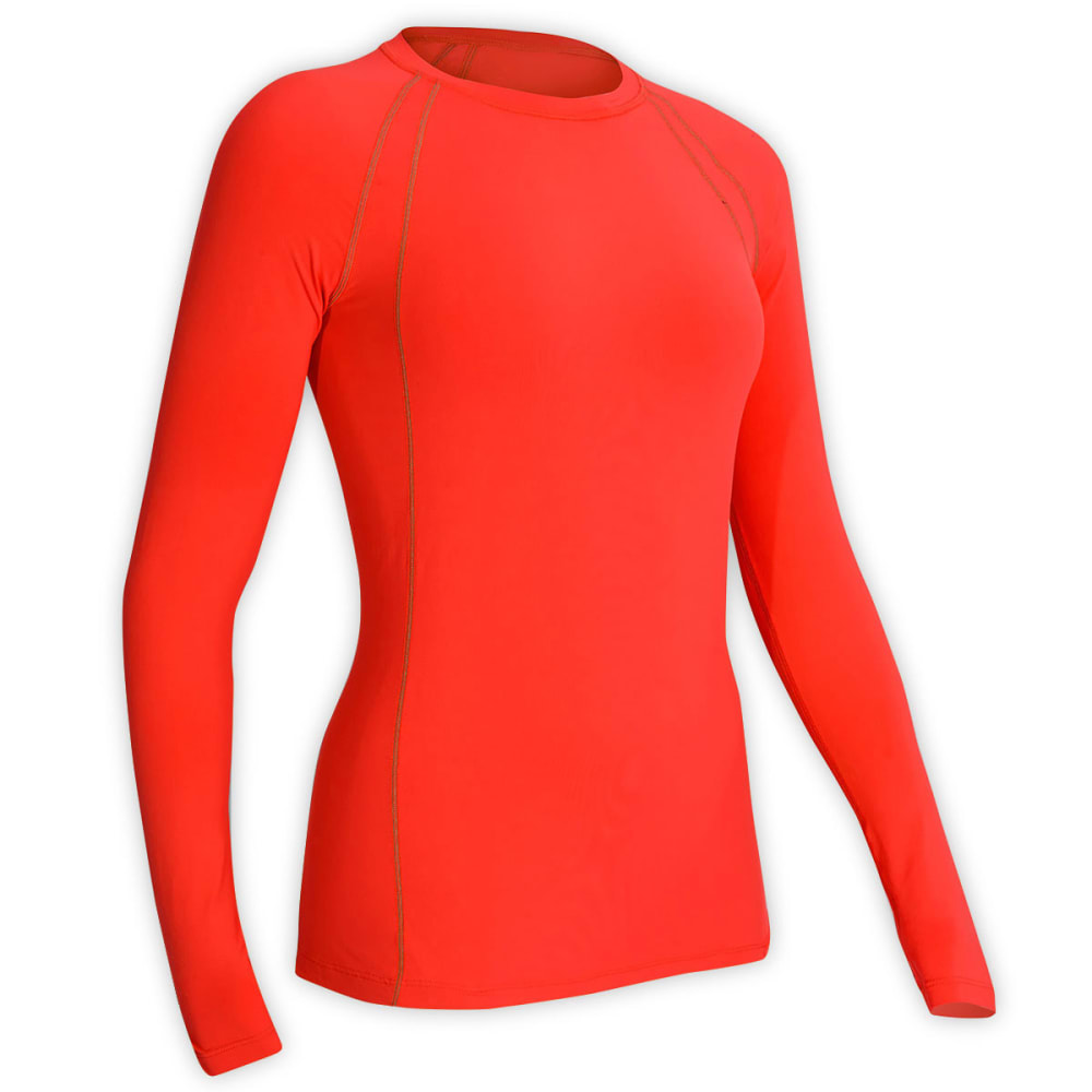 EMS® Women's Sessions Long-Sleeve Shirt  - CHERRY TOMATO