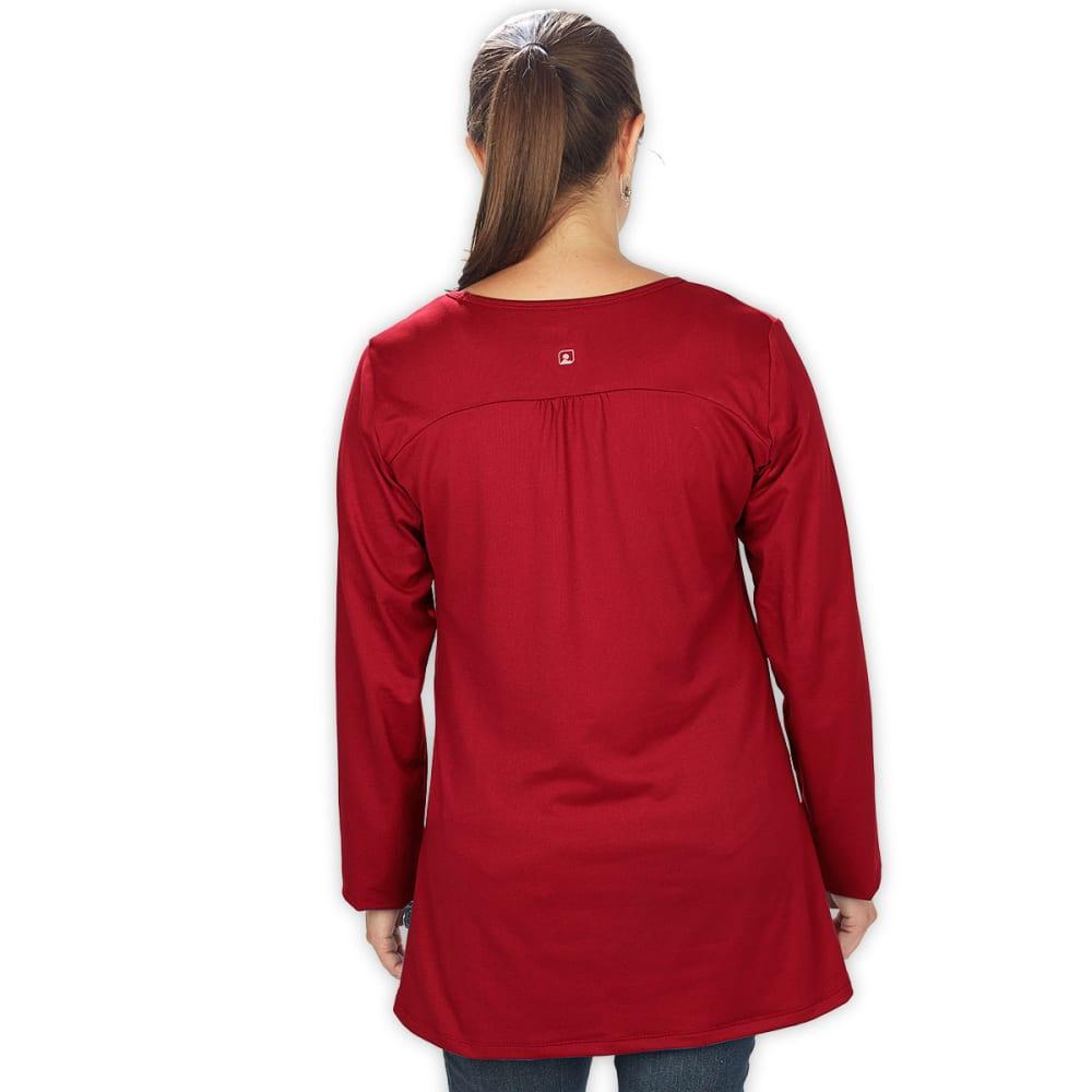 EMS® Women's En Route Tunic  - DEEP RED