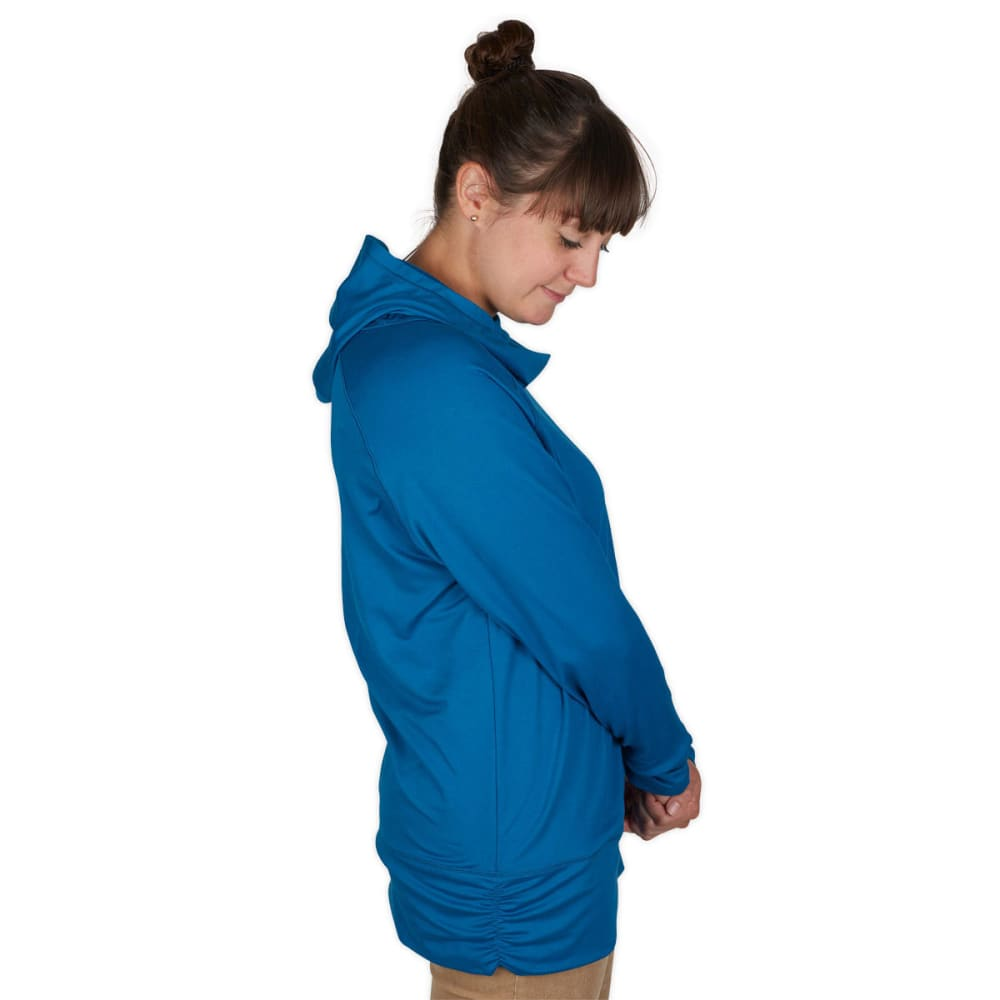 EMS® Women's Flow Hoodie   - PEACOCK BLUE