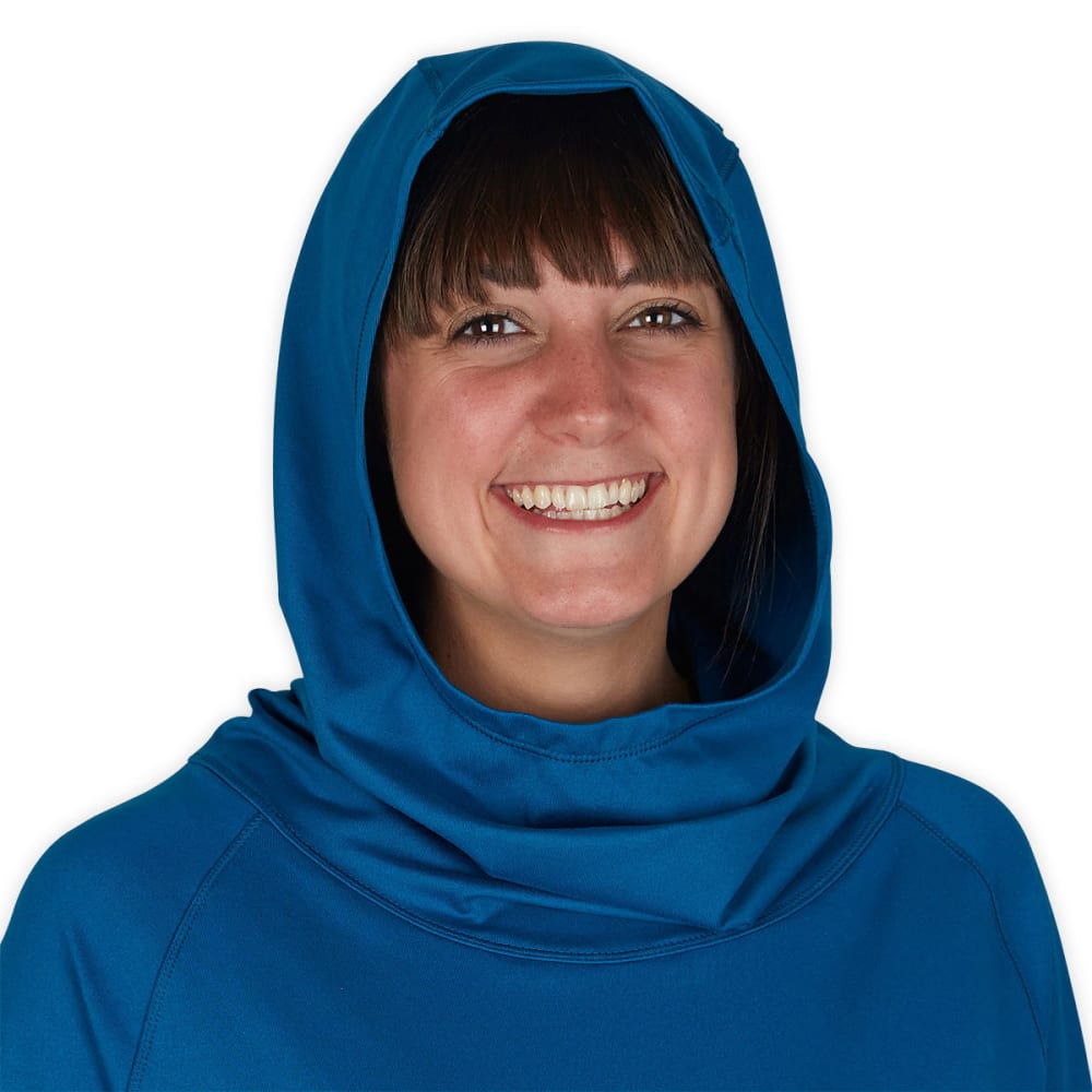 EMS® Women's Flow Hoodie  - PEACOCK BLUE