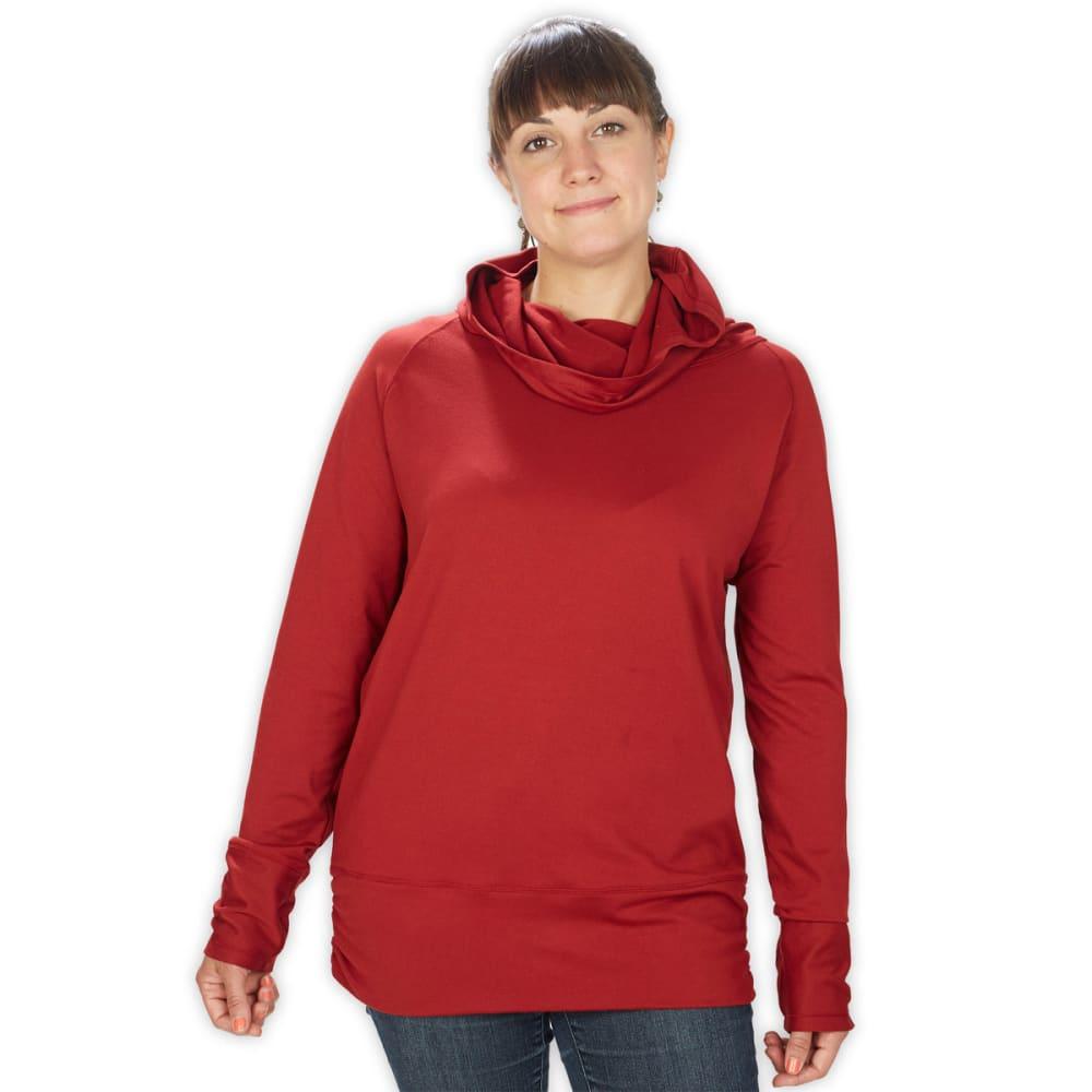 EMS® Women's Flow Hoodie  - DEEP RED