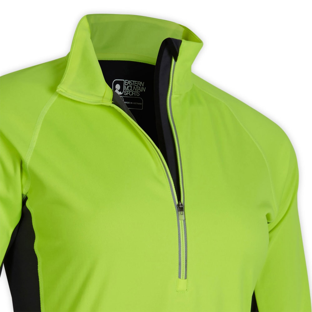 EMS® Women's Northshield Wind  ¼ Zip  - FLURO YELLOW